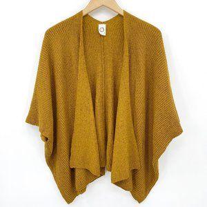 Anthro Akemi Kim Mustard Oversized Cocoon Cardigan